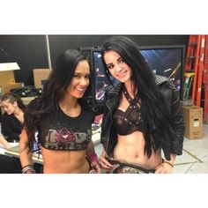AJ Lee vs. Paige Is WWE Divas Feud That Must Happen ❤ liked on Polyvore featuring wwe