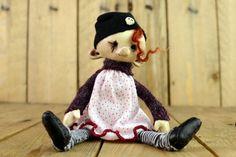 OOAK Halloween Kunst Puppe CLAIRE Künstler von Linas4oClockFriends