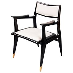 French Chair by Raphael Raffel | From a unique collection of antique and modern office chairs and desk chairs at https://www.1stdibs.com/furniture/seating/office-chairs-desk-chairs/