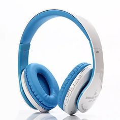 JKR-213B Hifi Headband Bluetooth Headphones Stereo Wireless Headsets with Mic TF for iPhone Samsung and Calls Noise Cancelling