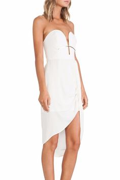 Zimmermann Silk Curve Bar Dress $50/Week