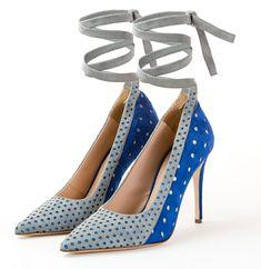 Hera ... our blue goddess... the 💙  Www.meenugraziani.com  #meenugraziani Shoe Collection, Heels, Blue, Fashion, Moda, Shoes Heels, Fasion, Heel, Trendy Fashion