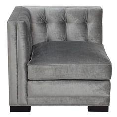 Royce Corner Chair from Z Gallerie