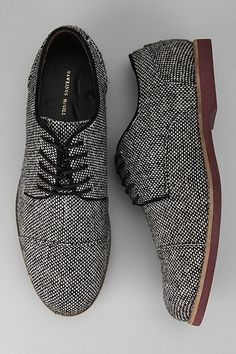Hawkings McGill wool oxford shoes