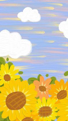 Hippie Wallpaper, Cute Pastel Wallpaper, Soft Wallpaper, Flower Phone Wallpaper, Cute Patterns Wallpaper, Painting Wallpaper, Aesthetic Pastel Wallpaper, Scenery Wallpaper, Kawaii Wallpaper
