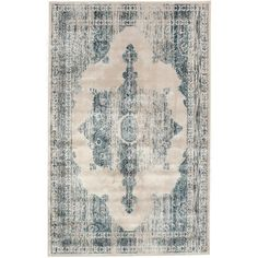 nuLOOM Medallion Ivory 9 ft. 6 in. x 12 ft. 10 in. Area Rug-CFVI05A-9601210 - The Home Depot