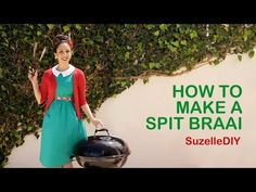 "too bad my kids are grown & have moved out! 7 January ""Takealot of this DIY Christmas Special with Suzelle"". Episode How to make a spit braai. Christmas In South Africa, When Im Bored, Cultural Studies, Web Project, Today Episode, Note To Self, Outdoor Cooking, Survival Tips, How To Plan"