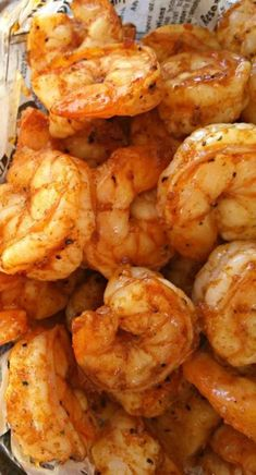 Party Shrimp - so delicious, and so easy to make for a crowd!