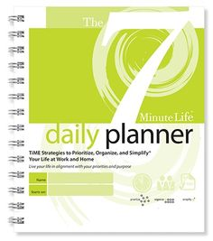 """This is a product that is supposed to """"change your life."""" It is not a simple tool to use, so if you are looking for a simple daily planner, this is not it."""