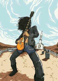 Slash (Guns N` Roses) - November Rain Guns And Roses, Metal Bands, Rock Bands, Caricatures, Rock And Roll, Arte Steampunk, Rock Y Metal, November Rain, Best Guitarist