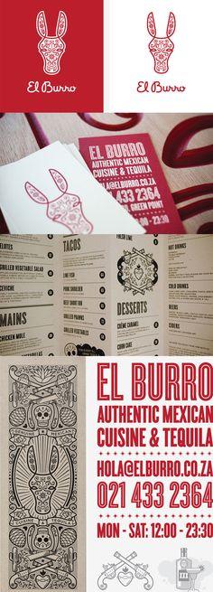 El Burro | Designer: Monday Design - http://www.mondaydesign.co.za