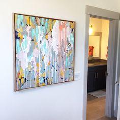 PNW painter, MaryLea Harris Art Motherhood Series Painting