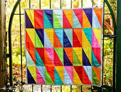 Riddle and {Whimsy} HRT quilt (front) | Flickr - Photo Sharing!