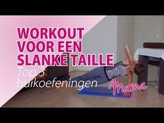 Top 3 Buikspier Oefeningen voor een Slanke Taille - YouTube