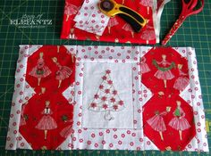 Day 3 - the Holiday Hostess Table Topper 5-day Tutorial!
