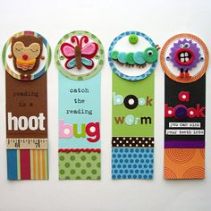 Adorable Bookmarks  By Aly Dosdall