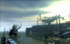 Dishonored - Whalers on the River by celyntheraven.deviantart.com on @DeviantArt