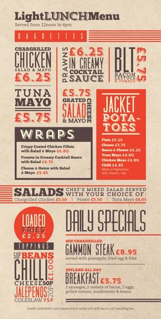 "modern menu design with food pictures - ""Google"" paieška"
