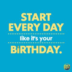 And then, party like it's your birthday! Fun Quotes, Best Quotes, Inspirational Quotes, Life Video, It's Your Birthday, Funny Quotes About Life, Thoughts And Feelings, Life Humor, Funny Faces