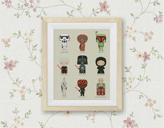 BOGO FREE Star Wars Cross Stitch Pattern Mini Pixel by StitchLine