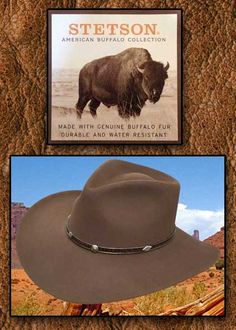 Stetson Hats From Tribal And Western Impressions