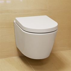 Cruise Wall-Hung Toilet 52x36cm inc Duraplast Seat