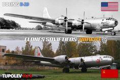 B-29 vs. Tu-4: o Tupolev é quase uma cópia do B-29 afinal três deles pousaram na Rússia e nunca mais voltaram