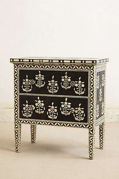 Anthropologie - Paisley Inlay Dresser