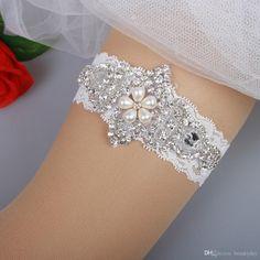 Bridal Garters Lace Rhinestones Pearls Beads Vintage Prom Homecoming Wedding  Garter Set Bridal Leg Garter Belt Set Plus Size Wedding Leg Garters Bridal  Leg ... 09d41b5dac5a