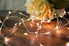 Fairy Lights, 30 LEDs, 10 foot Ultra Thin Wire, Timer, Battery, Warm White