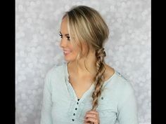HOW TO: Rope Braid Tutorial | Kylee's Beauty - YouTube