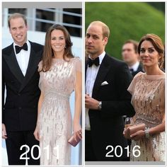 William and Catherine attended a gala dinner in Norfolk today! I love gown that Catherine re-cycled from 2011, it is stunning #dukeandduchessofcambridge