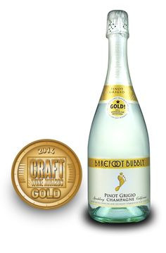 Craft Wine Awards 2014 | Barefoot Bubbly Sparkling Pinot Grigio