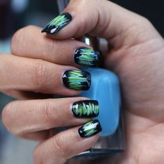 Get Coachella-Ready With This Easy Nail Art Manicure *Links to video tutorial.