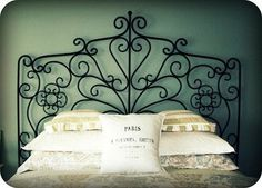 metal headboard ideas   METAL HEADBOARDS Design Ideas, Pictures, Remodel, and Decor - page 39