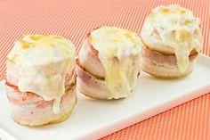Como deixar uma batata ainda mais gostosa? Coloque bacon nela, que fica sensacional!!