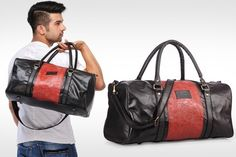 """BuyHashtag Duff Bag atRs.999 only Offer is on a Choice of Hashtag Duff Bags: Offer 1: Black Offer 2: Brown Offer 3: Maroon Features: Outer Material: Polyurethane (PU) Inner Fabric: Cotton Inner Fabric Color: Black Bag Dimensions (L x W x H): 18.5"""" x 8"""" x 12.5"""" Capacity: Up to 4kg No. of compartments: 1 …"""