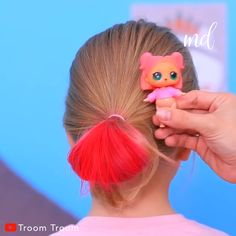 SUPER CUTE HAIRSTYLES Hairstyles & more hairstyles! By: Troom Soft, shiny, silky and well-groomed hair is our dream. However, caused by . Crazy Hair Day Girls, Crazy Hair For Kids, Crazy Hair Day At School, Girl Hair Dos, Crazy Hair Days, Super Cute Hairstyles, Creative Hairstyles, Cute Hairstyles For Toddlers, Funny Hairstyles