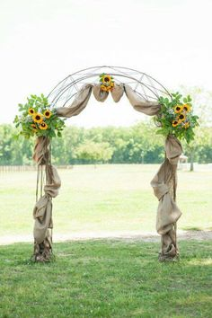 Archway for reception hall