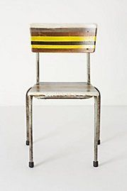 I am totally diggin' this- Artista Lesson Chair, Stripes