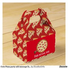 Shop Cute Pizza party add message favor box created by DoodlesGifts. Cute Pizza, Disney Balloons, Party Favors For Kids Birthday, Company Party, Pizza Party, Favor Boxes, Summer Kids, Event Planning, Party Invitations