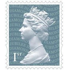 1st Class Jubilee Stamp