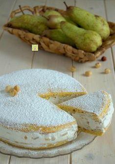 torta di ricotta e pere #food #foodgasm #foodlover #foodblog #ricetta #torta