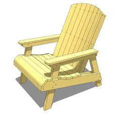 Not-Your-Typical-Adirondack chair