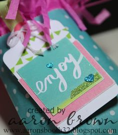 Use InstaLife cards as cute gift tags! #ctmh #InstaLife #GiftIdeas