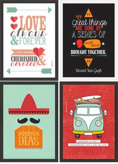 Posters Posters gratuitos para você decorar a sua casa How to Overprint Colors to Create Cool Print Effects How The Television Has Evolved music sounds better Poster S, Quote Posters, Posters Diy, Wall Decor, Room Decor, Surf Decor, Home And Deco, Be My Valentine, Decoration