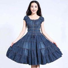 Fashion Tips For Men Inspiration Lässigen Jeans, Jeans Dress, Dress Skirt, Casual Jeans, Fashion Mode, Skirt Fashion, Fashion Dresses, Fashion Tips, Casual Dresses