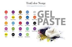 Trucolor Natural FoodColor Gel Powder, to color Your sugarpaste - Royal Icing or dough.