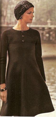 Dress By Nina Ricci 1970 Vogue