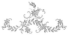 W 733 or Serial nº 2022 i Floral Embroidery Patterns, Baby Embroidery, Embroidery Transfers, Hand Embroidery Patterns, Vintage Embroidery, Embroidery Applique, Beaded Embroidery, Cross Stitch Embroidery, Dremel